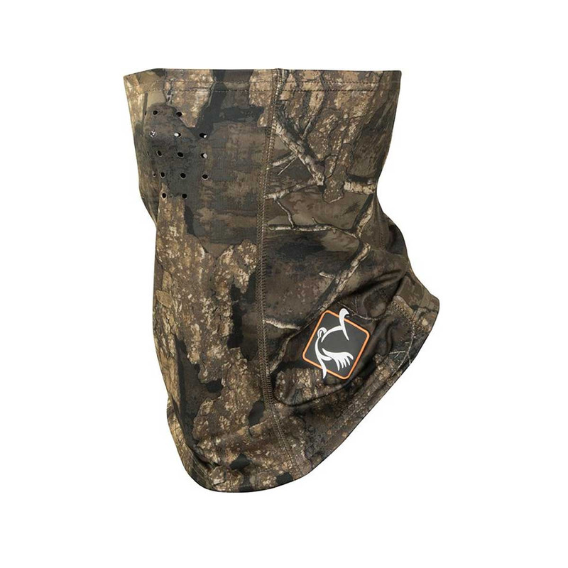 Ol' Tom Performance Buff Face Mask in Realtree Timber Color