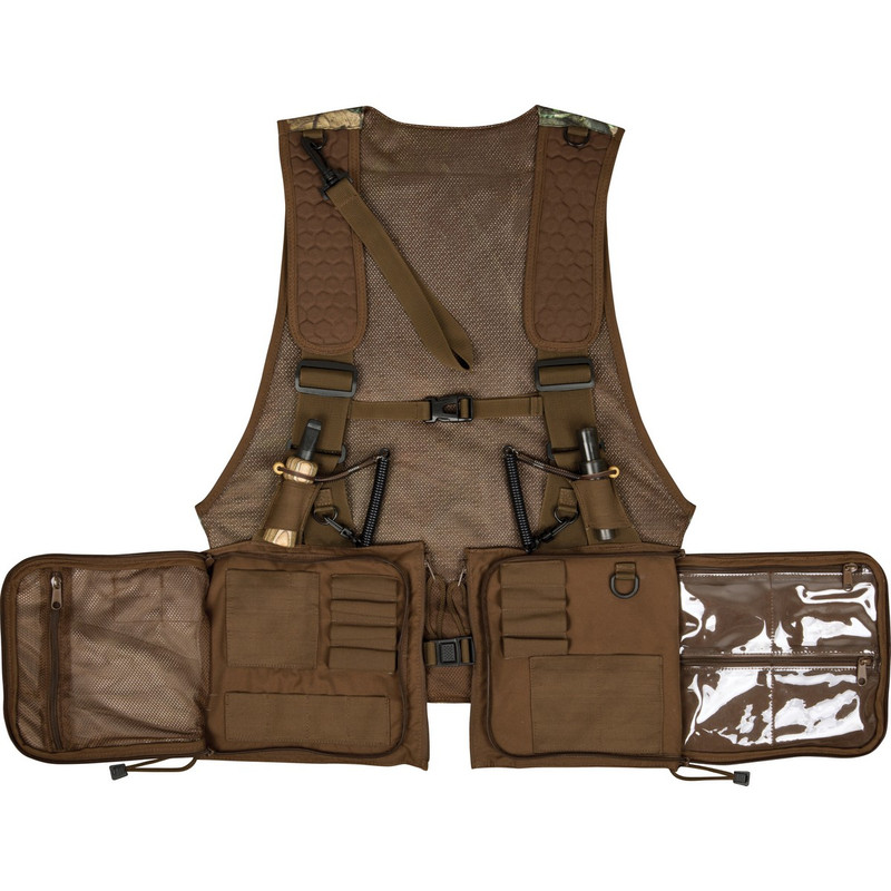 Ol' Tom Michael Waddell Signature Series Time and Motion Strap Vest 2.0 in Realtree Timber Color
