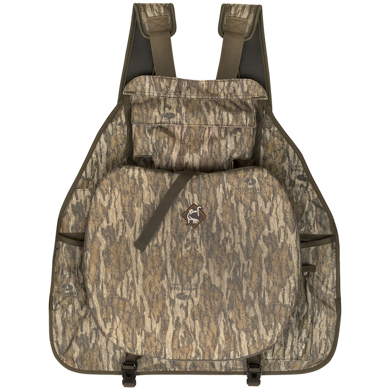 Ol'Tom Time & Motion Easy-Rider Turkey Vest in Mossy Oak Bottomland Color