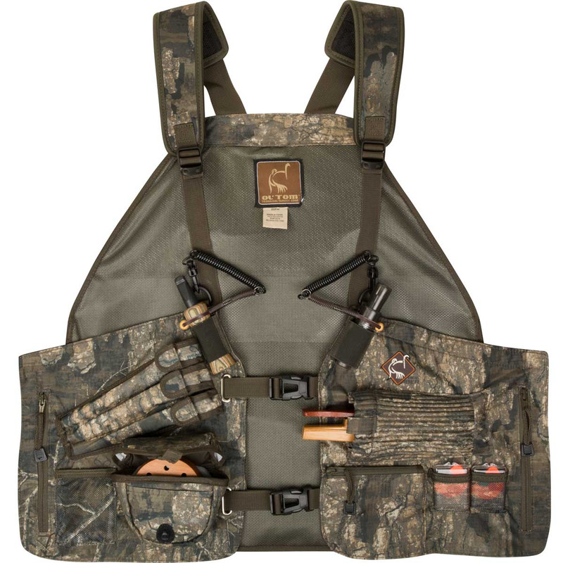 Ol'Tom Time & Motion Easy-Rider Turkey Vest in Realtree Timber Color