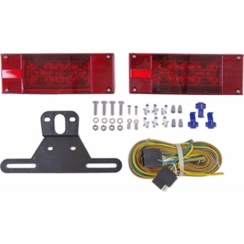 Optronics LED Waterproof Over 80 Inch Trailer Light Kit