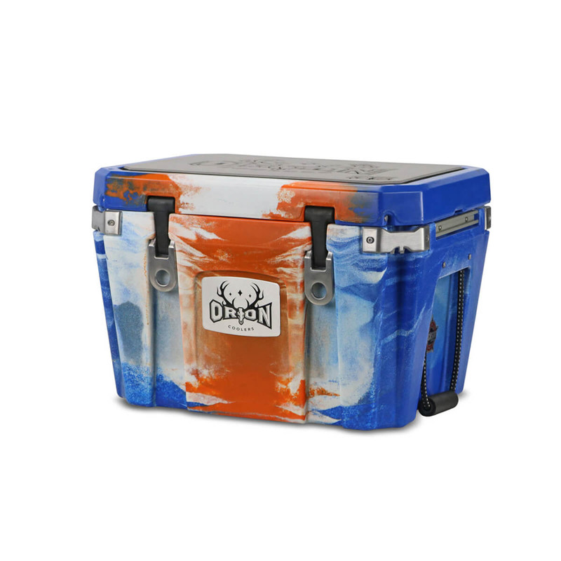Orion 35 Cooler in Blue Orange White Color