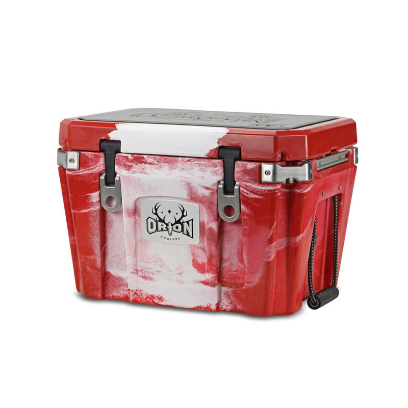Orion 35 Cooler in Maroon White Color