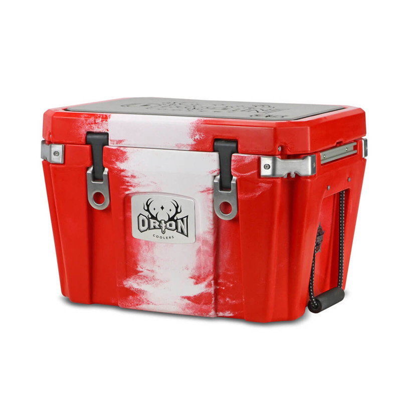 Orion 35 Cooler in Red White Color