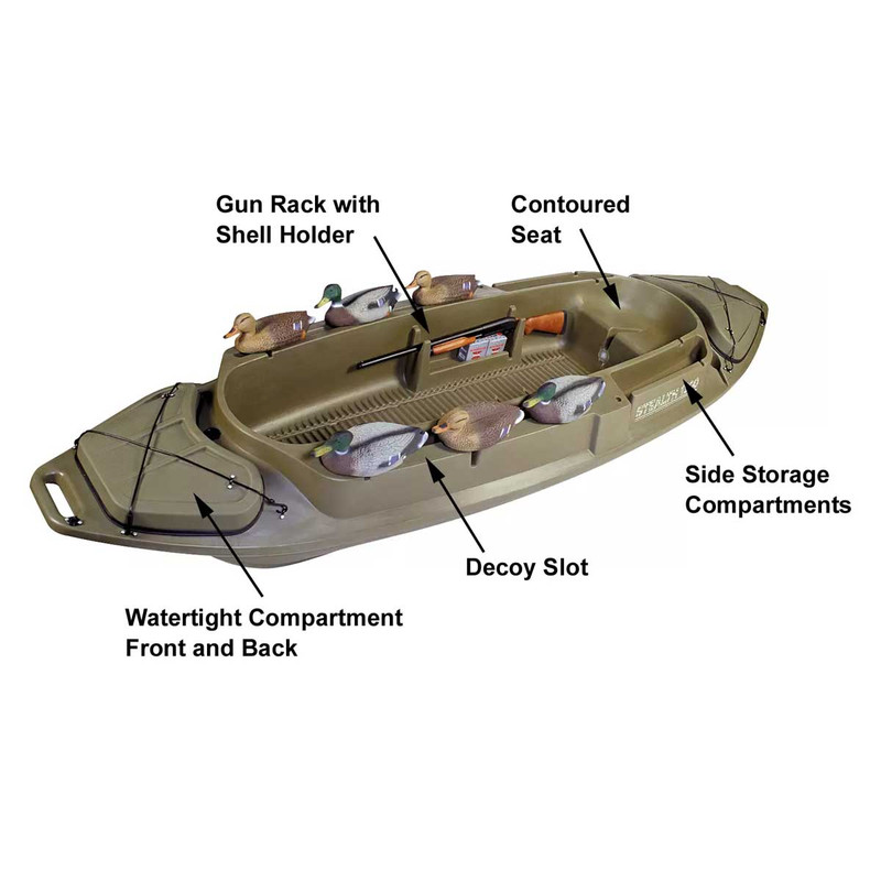 Otter Outdoors 1200 Duck Hunting Boat