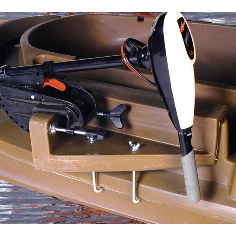 Otter Outdoors Stealth 1200 Motor Mount in Marsh Brown