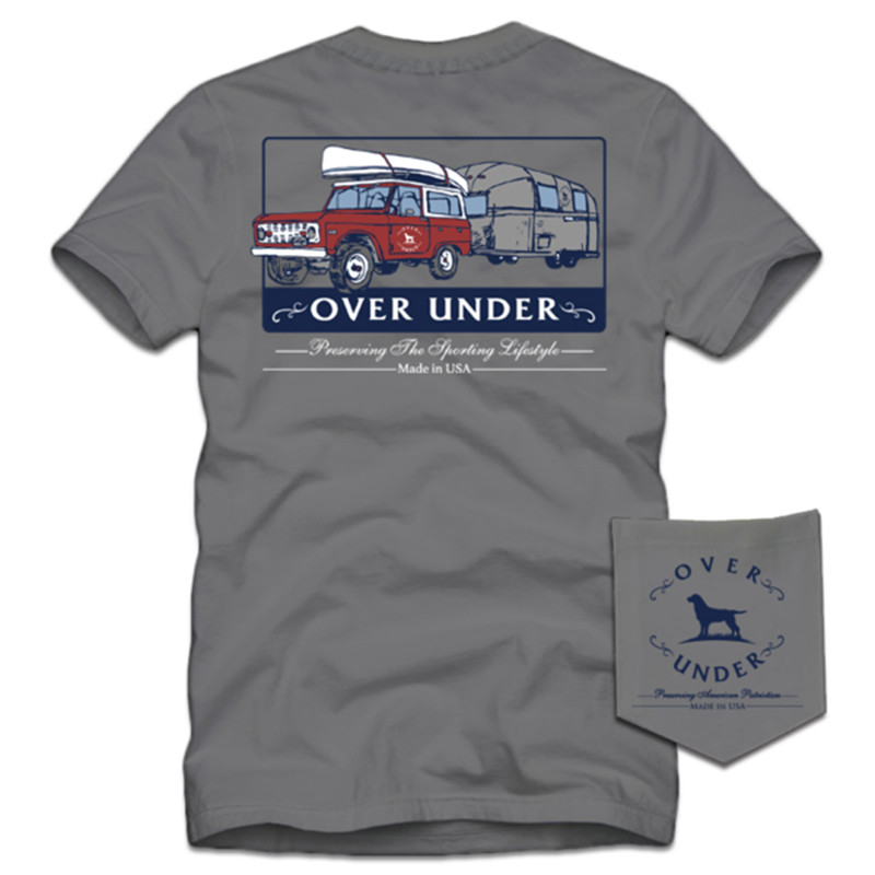 Over Under On The Road Again SS T-Shirt in Hurricane Color