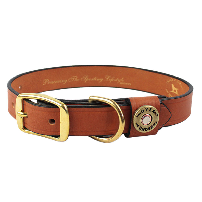 Over Under Finest in the Field Collar in London Tan Color