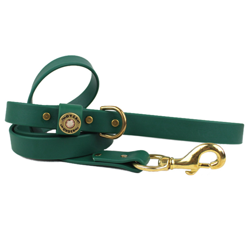 Over Under Water Dog Leash - Alpine Green in Alpine Green Color