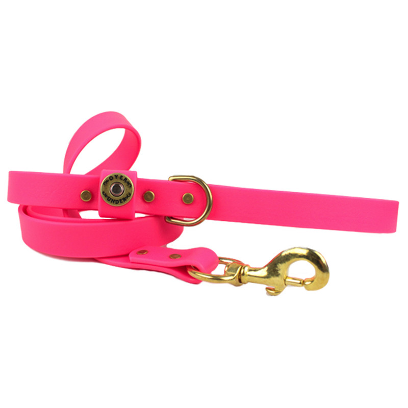 Over Under Water Dog Leash - Pink in Pink Color