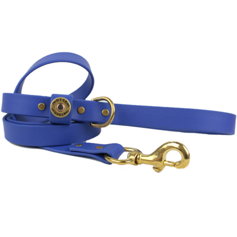 Over Under Water Dog Leash in Cobalt Blue Color