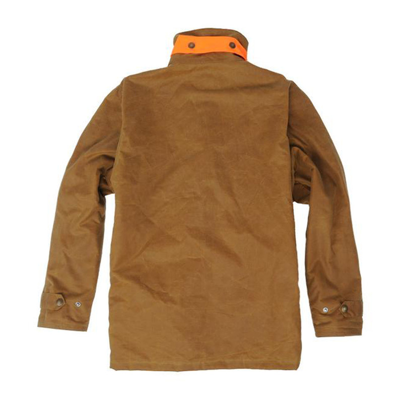 Over Under Waxed Briar Jacket in Field Tan Color