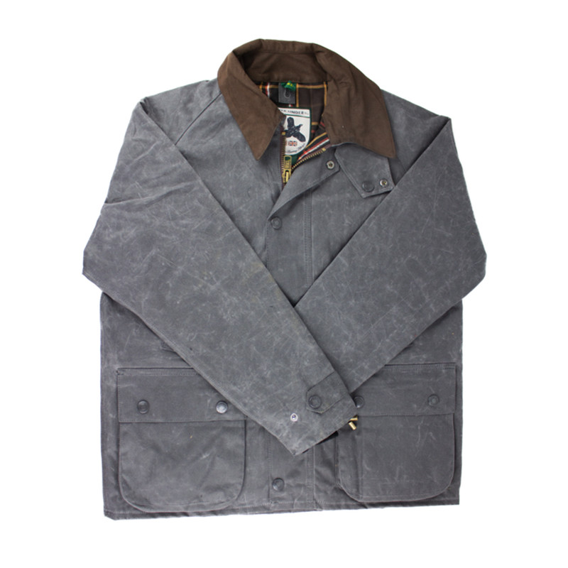 Over Under The Bourton Jacket in Charcoal Color
