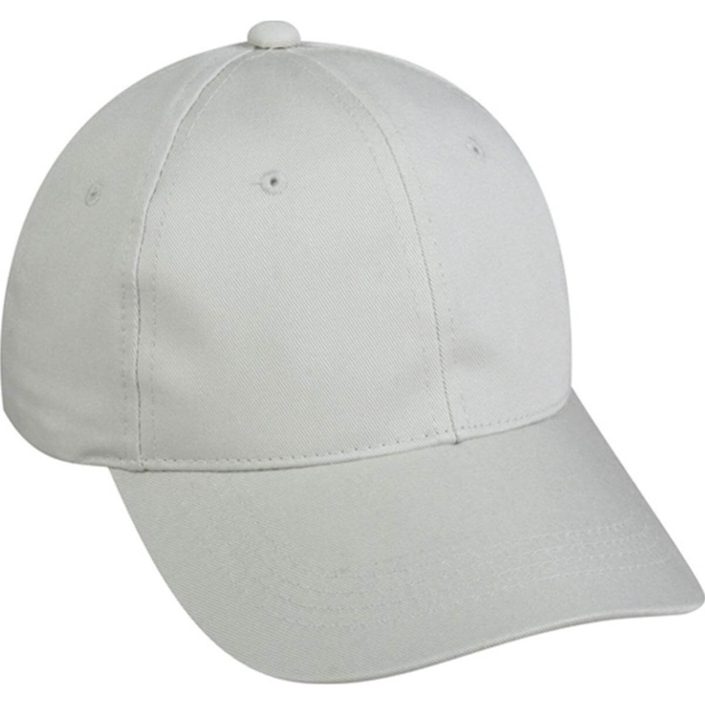 Outdoor Cap 6 Panel Chino Twill Cap in Putty Color