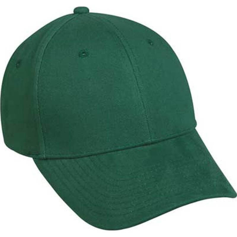 Outdoor Cap 6 Panel Cap in Dusty Green Color