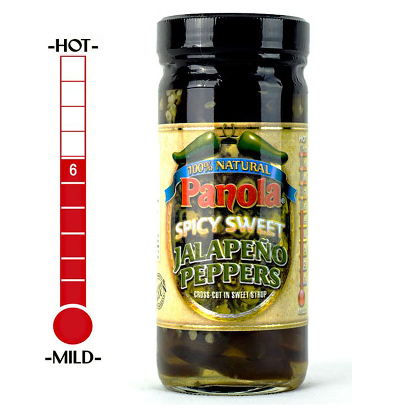 Panola Pepper Spicy Sweet Jalapeno 8oz in main