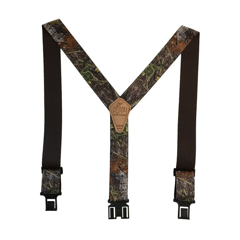 "Perry Suspenders 2"" Camouflage in Mossy Oak Breakup Color"