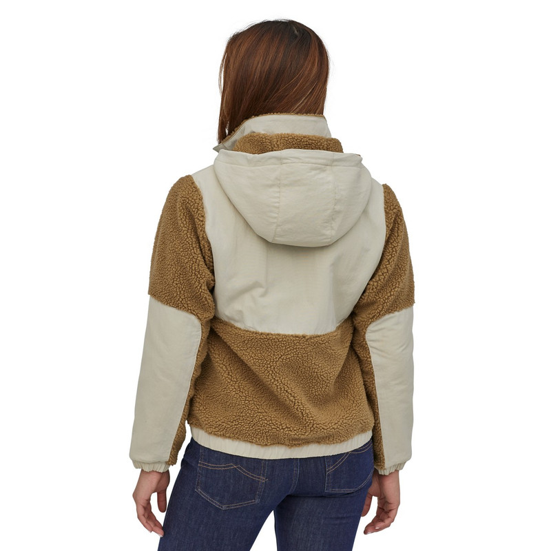 Patagonia Women's Shelled Retro-X Pullover in Nest Brown Color