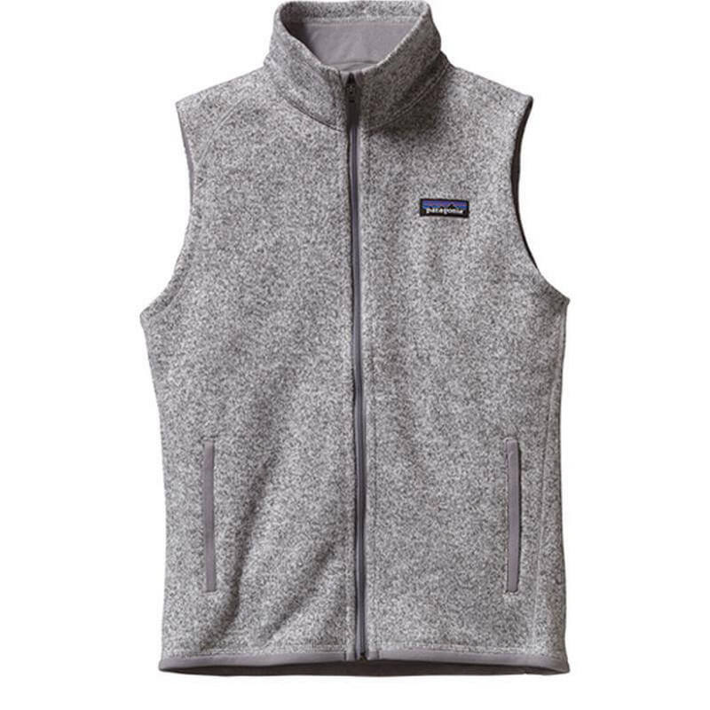 Patagonia Womens Better Sweater Fleece Vest in Birch White Color