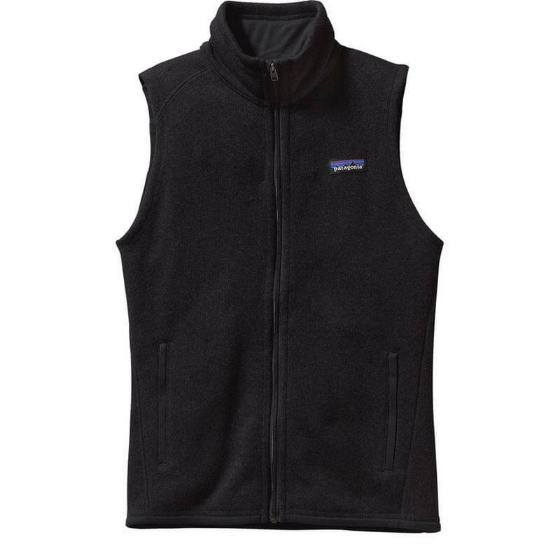 Patagonia Womens Better Sweater Fleece Vest in Black