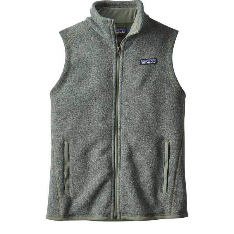 Patagonia Womens Better Sweater Fleece Vest in Hemlock Green