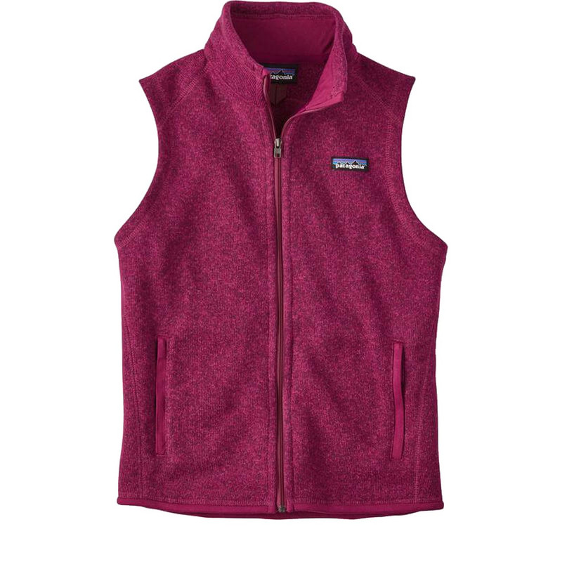Patagonia Womens Better Sweater Fleece Vest in Magenta