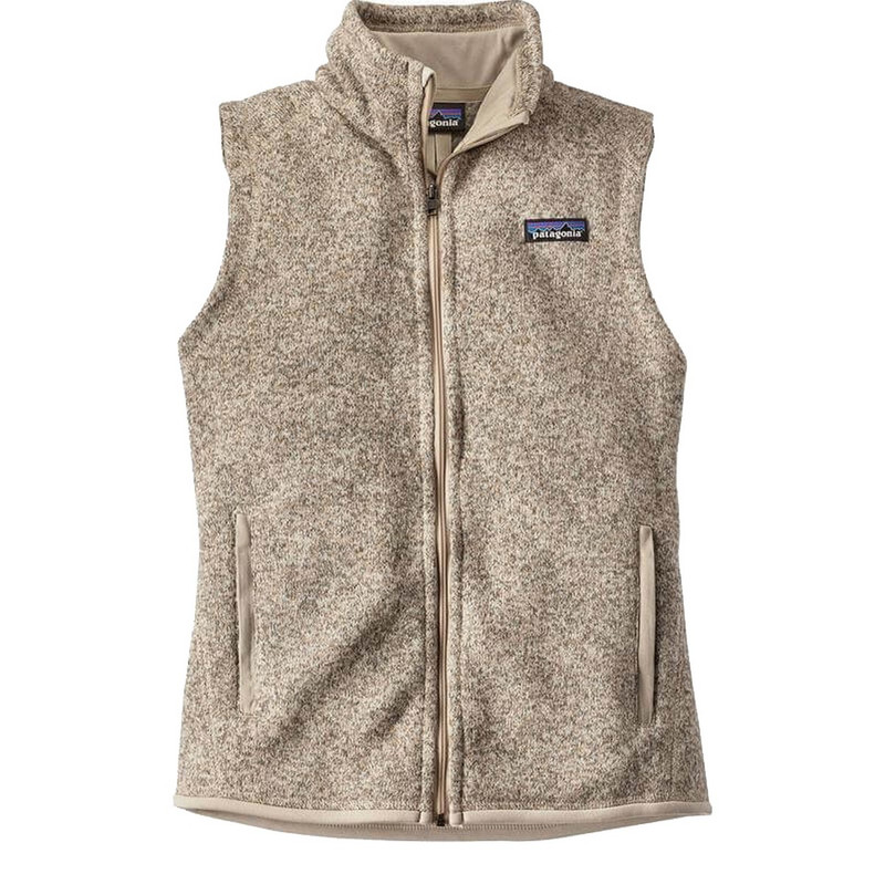 Patagonia Womens Better Sweater Fleece Vest in Pelican Color