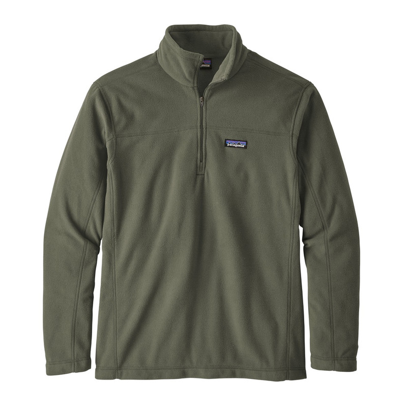 Patagonia Men's Micro D Pullover in Basin Green Color