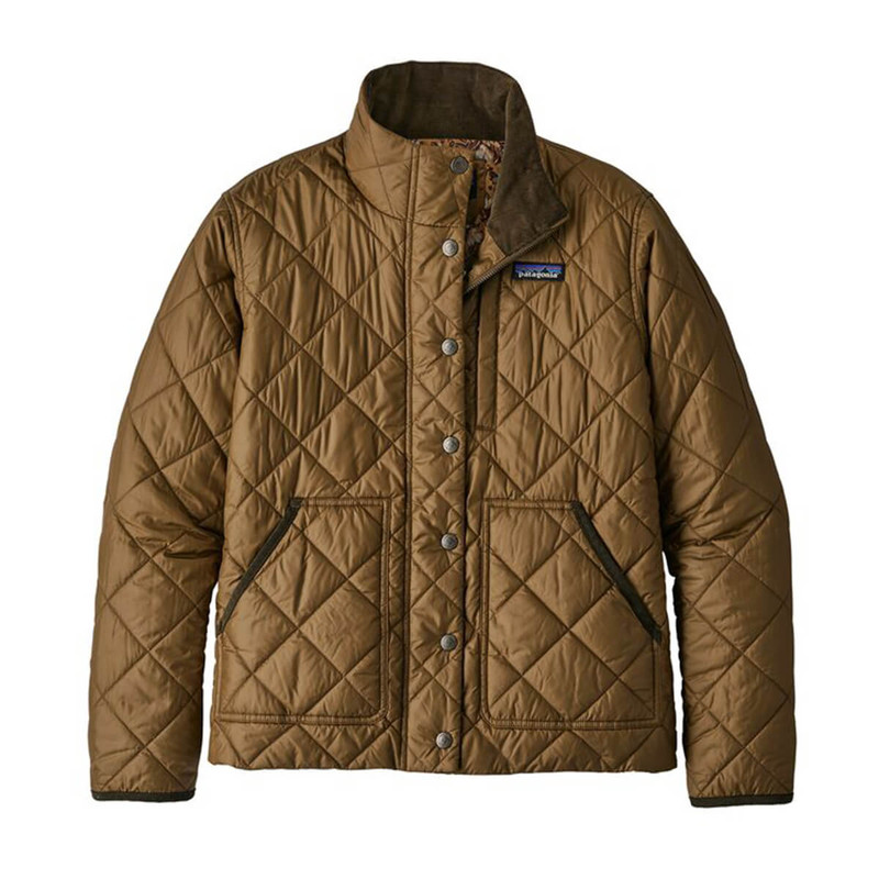 Patagonia Women's Back Pasture Jacket in Owl Brown Color