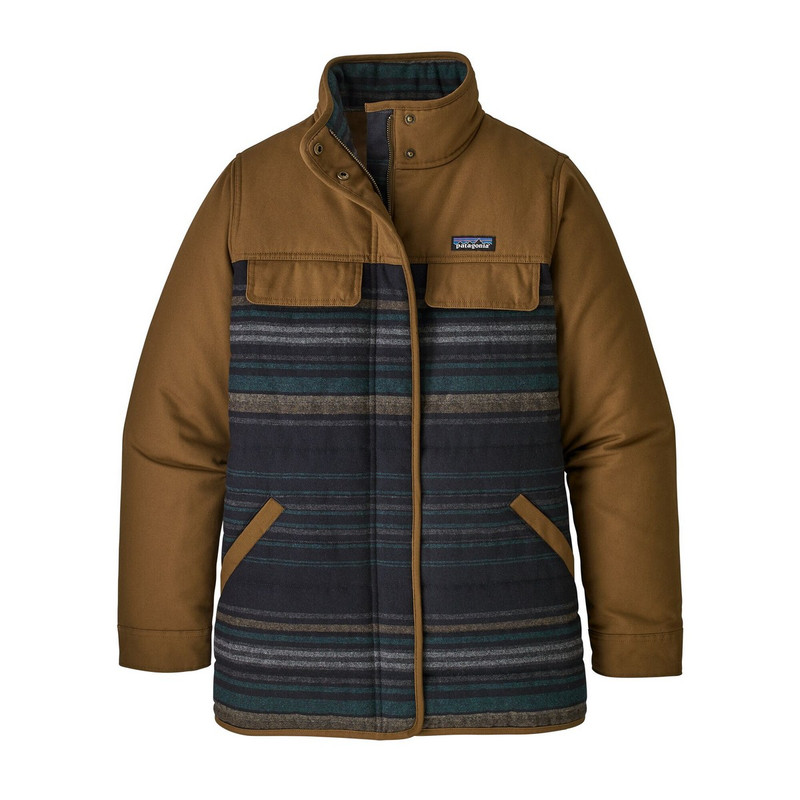 Patagonia Women's Out Yonder Coat in Owl Brown Color