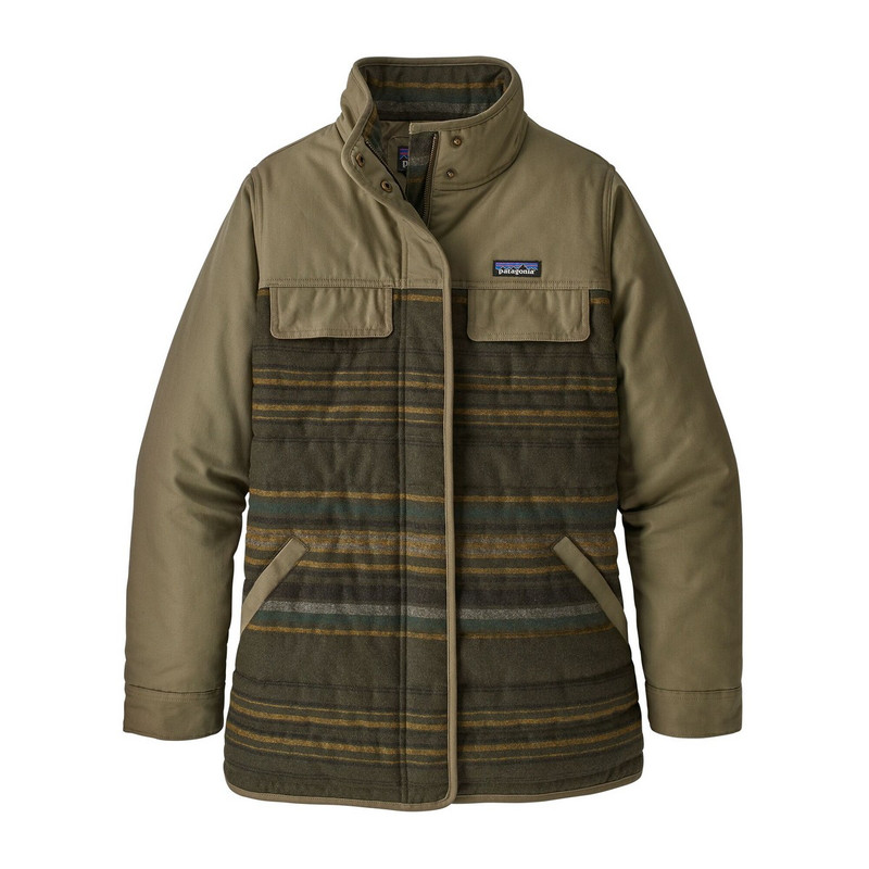 Patagonia Women's Out Yonder Coat in Sage Khaki Color