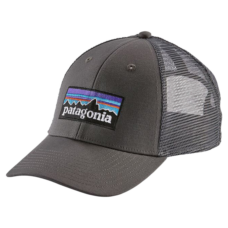 Patagonia P6 Lopro Trucker Hat in Forge Grey Color