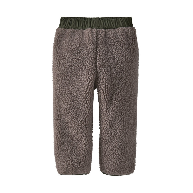 Patagonia Baby Reversible Tribbles Pants in Striped Garden Green Color