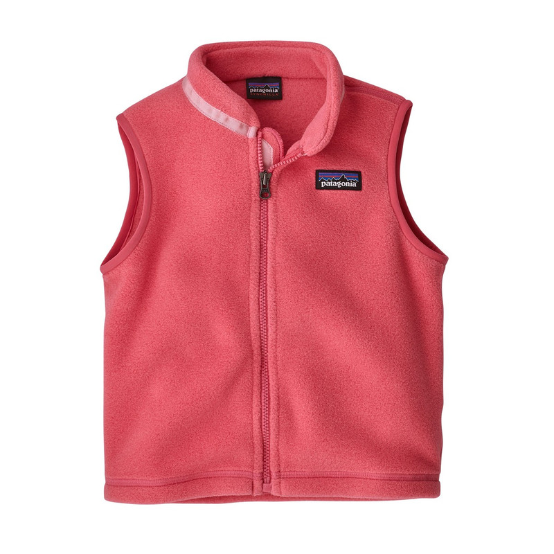 Patagonia Baby Synchilla Vest in Range Pink Color