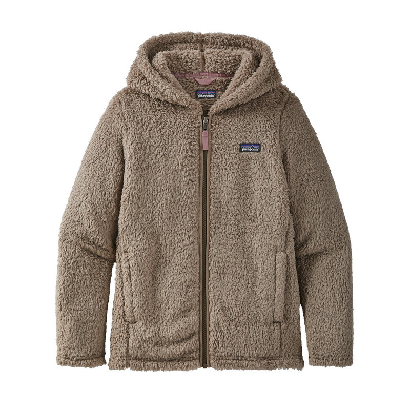 Patagonia Girl's Los Gatos Hoody in Furry Taupe Color