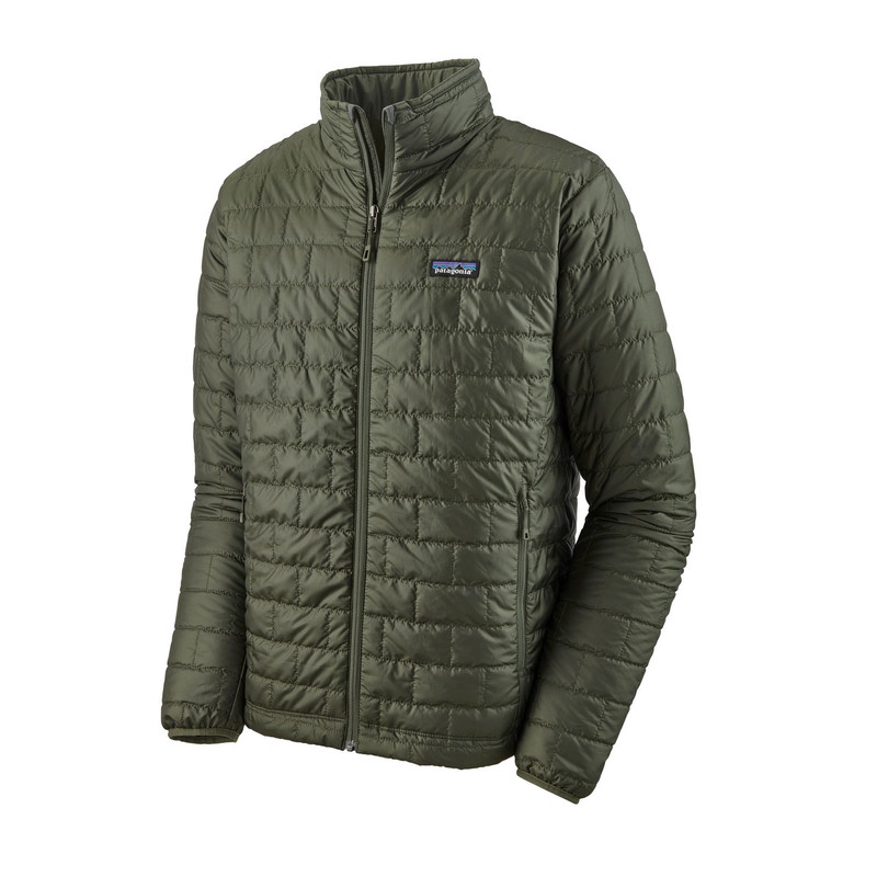 Patagonia Men's Nano Puff Jacket in Kelp Forest Color