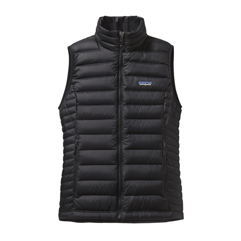 Patagonia Womens Down Sweater Vest in Black Color
