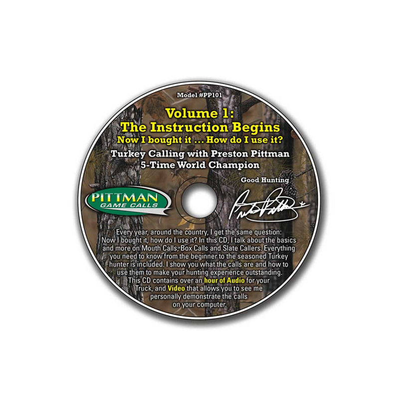 Preston Pittman The Instruction Begins Vol. 1 CD