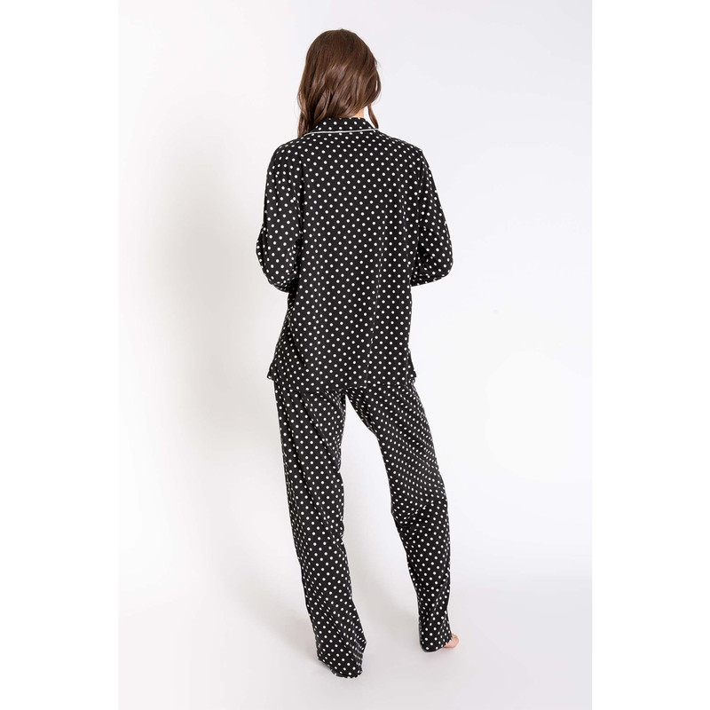 PJ Salvage Stand Up To Cancer PJ Set in Black Color