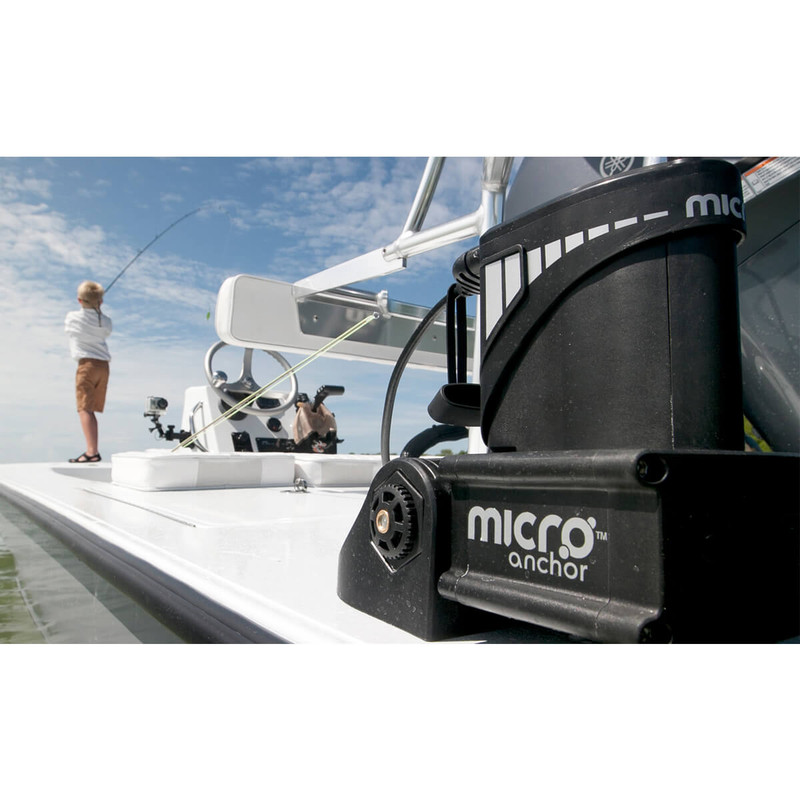 Power-Pole Micro Anchor Black