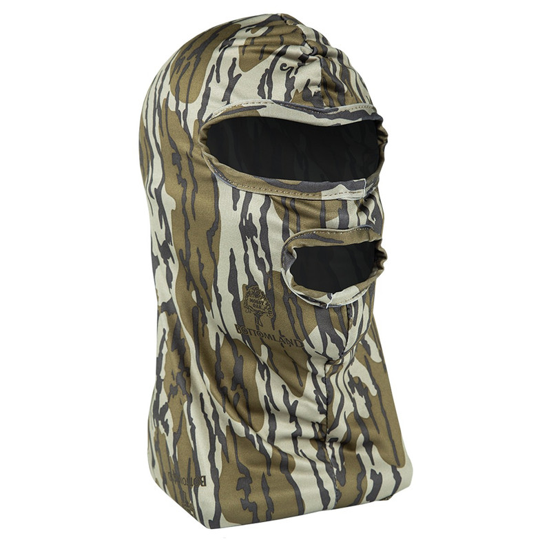 Primos Full Face Mask in Mossy Oak Bottomland Color