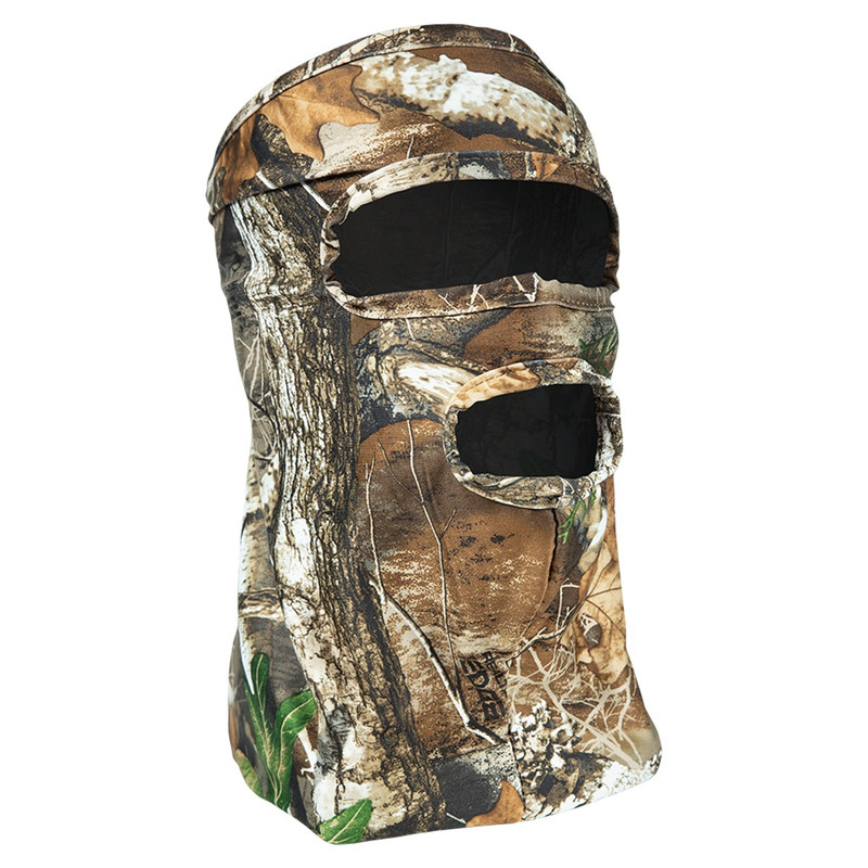 Primos 3/4 Stretch Fit Face Mask in Realtree Edge Color