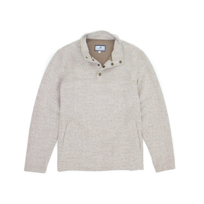 Properly Tied Upland Pullover in Cream Color