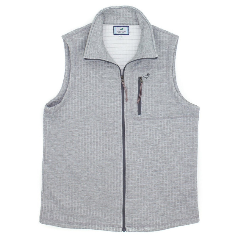 Properly Tied Delta Vest in Heather Grey Color
