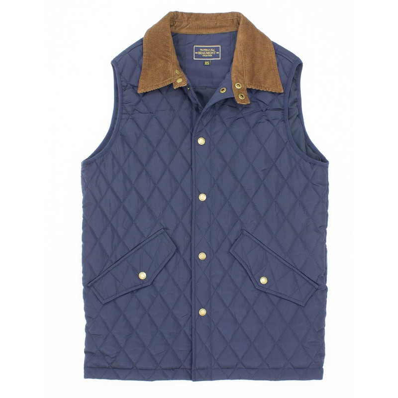 Properly Tied Beaumont Vest in Navy Color
