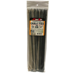 Pro Ties Cable Ties 100 Pack of 14 Inch Zip Ties