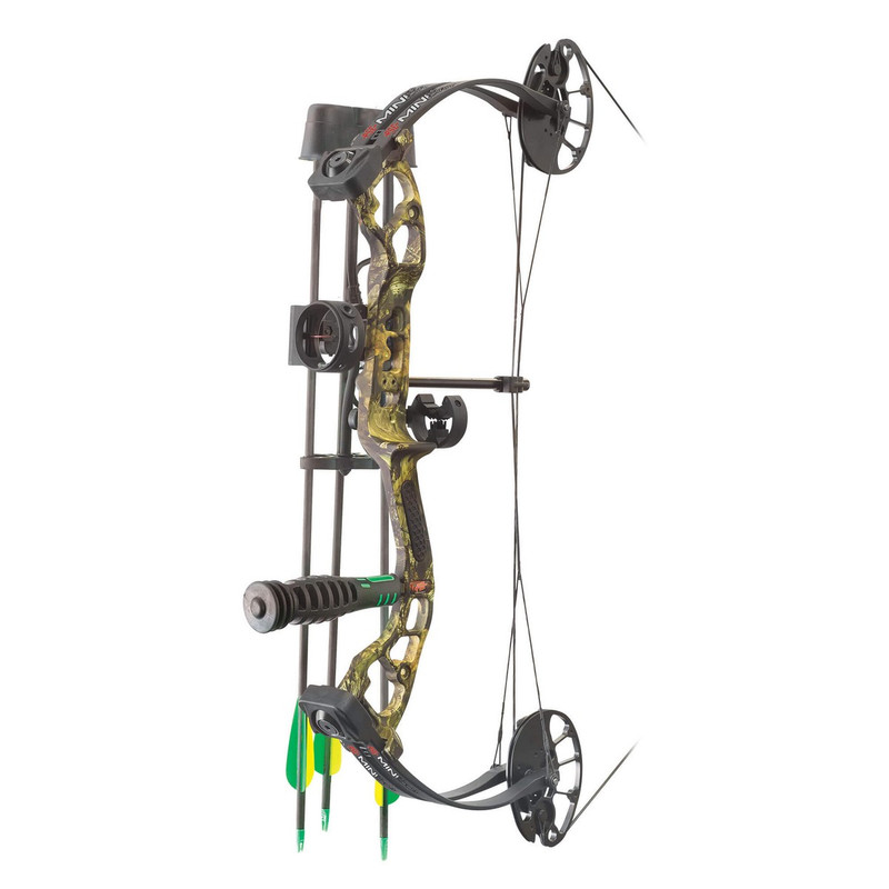 "PSE Mini Burner Mossy Oak Country Right Hand 16""-26.5"" 8lbs-29lbs"