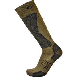 Point 6 Highcut Over The Calf Boot Sock Coyote Brown