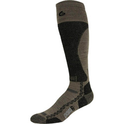 Point6 Boot Light Over the Calf Socks - Taupe