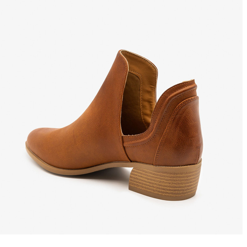 Rager Bootie in Brown Color
